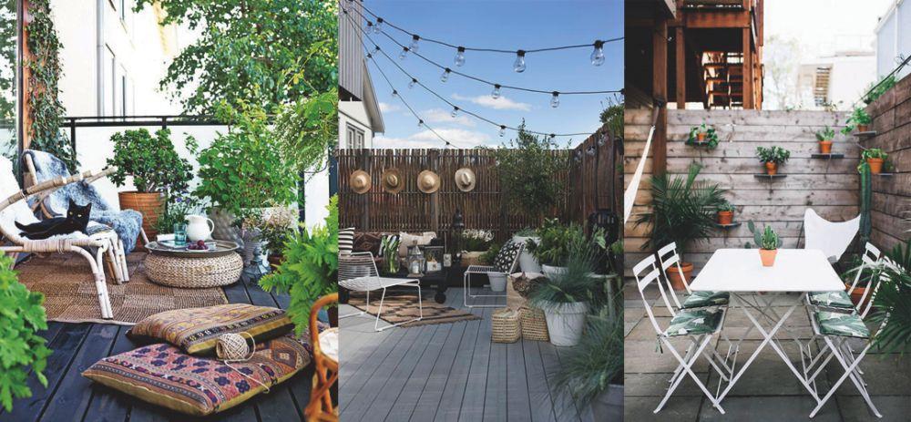 Enfin l'été : aménager la terrasse!