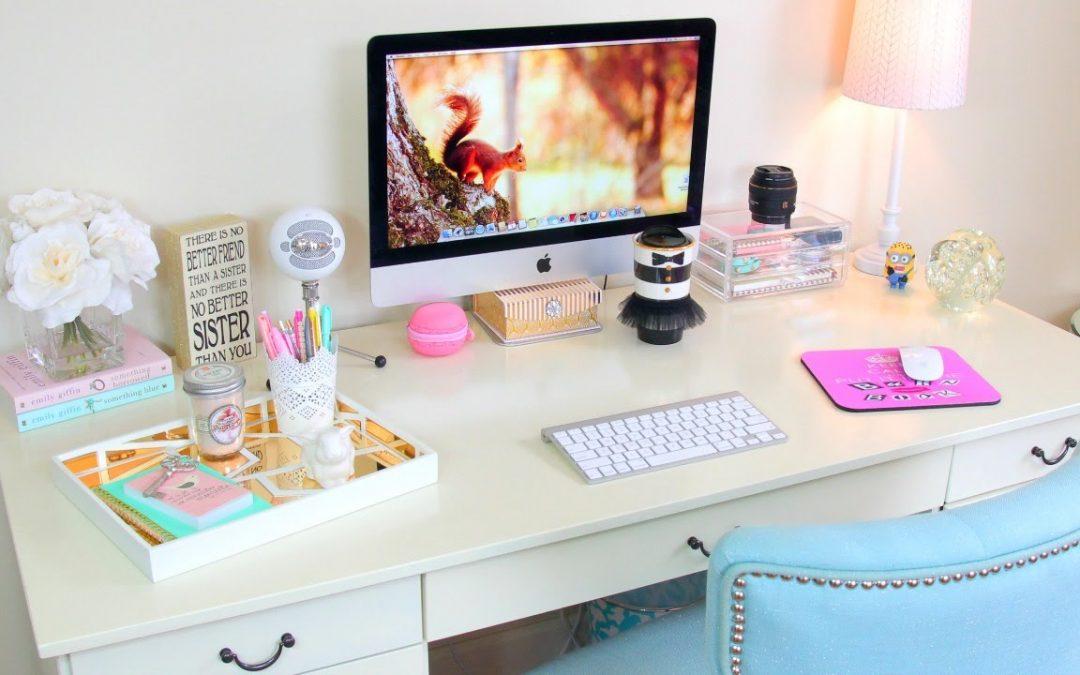 Mini espace recherche joli bureau
