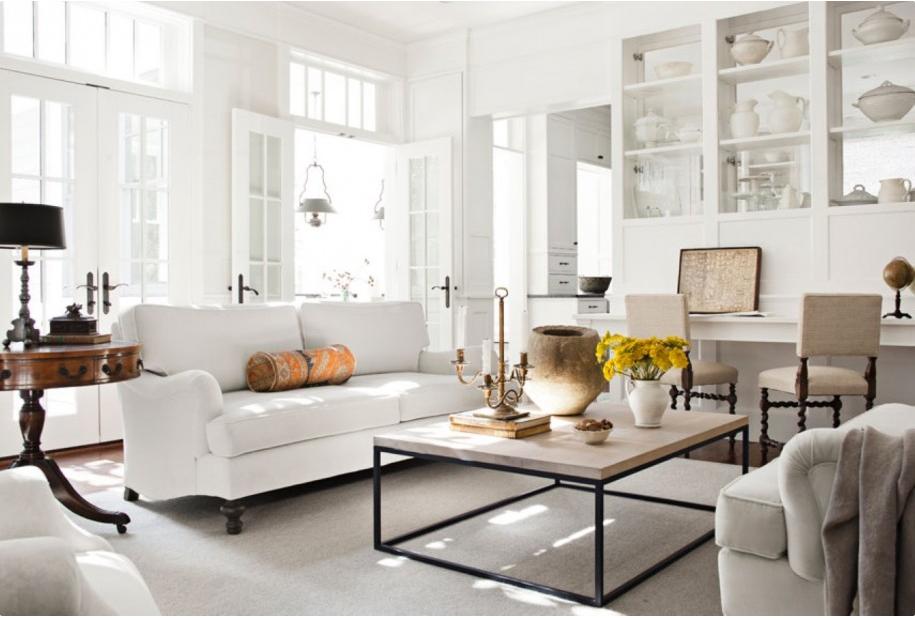 Déco: Un intérieur blanc et harmonieux