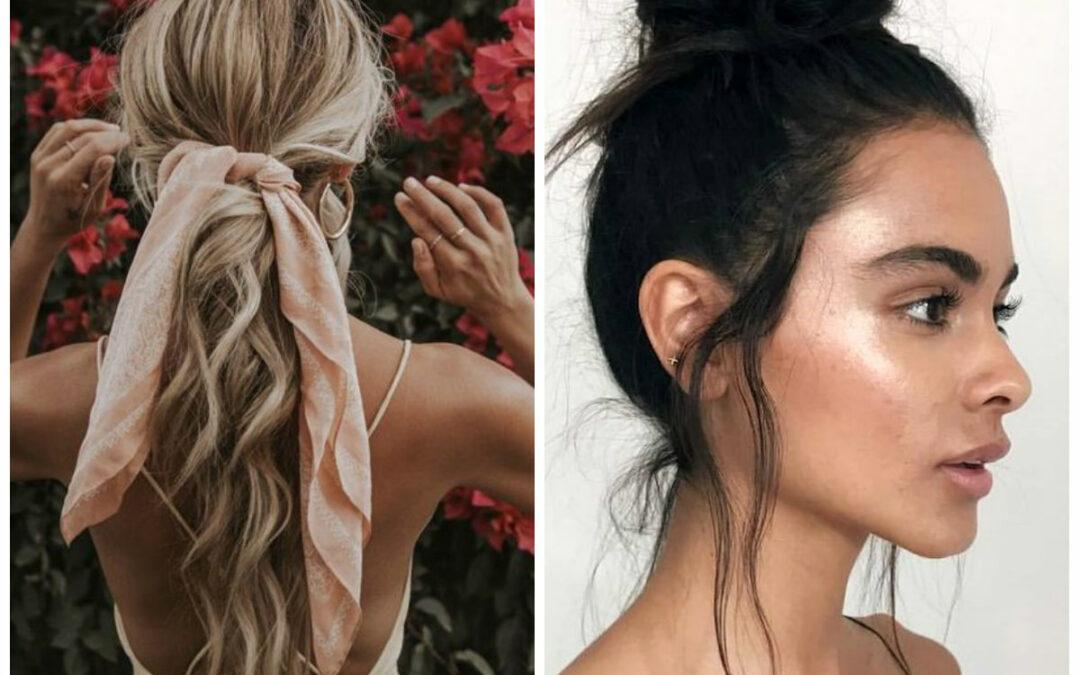 3 façons rapides de styler ses cheveux lorsqu'il fait chaud